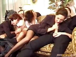 Французское групповое порно от женщинами